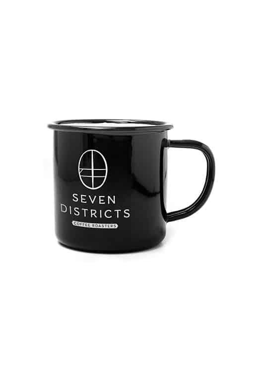 Seven Districts Enamel Mug